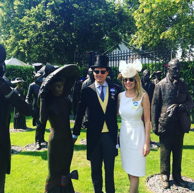 Rachel Wyse and boyfriend Tim Gredley. Picture: Instagram