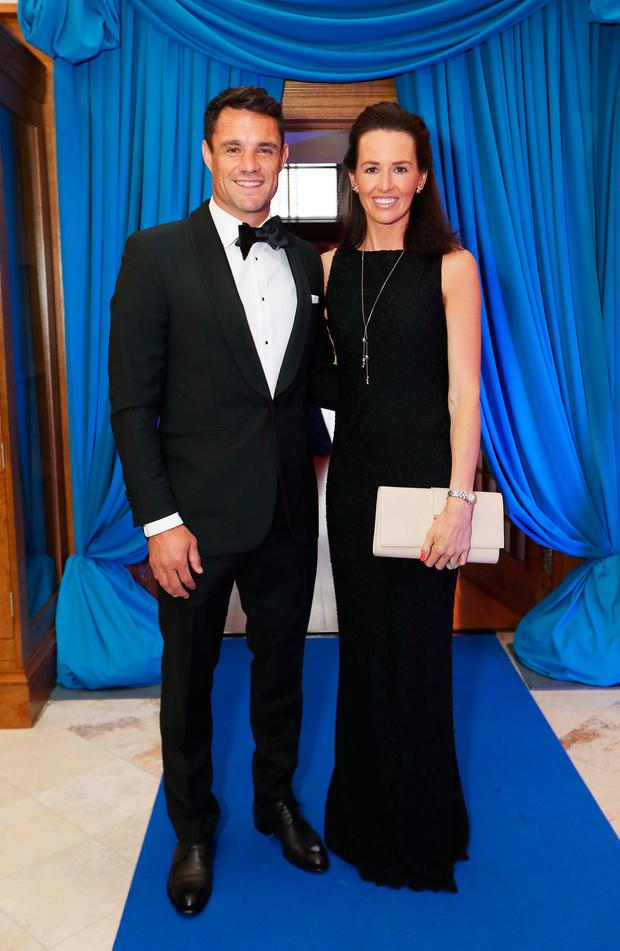 Dan and Honor Carter at the launch of the SoftCo Foundation at Dun Laoghaire Golf Club