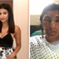 Resham Khan before and after the attack CREDIT: GOFUNDME