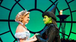 Glinda and Elphaba (a previous cast). PIC: Matt Crockett