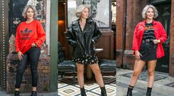 Style Diary: Makeup artist and fashionista Niamh Webb O'Rourke opens up her urban-inspired wardrobe. Images: Kyran O'Brien