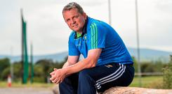 Davy Fitzgerald says he shocked the county board by requesting 160 sliotars for the first night of training with the Wexford county panel. Photo: Matt Browne/Sportsfile