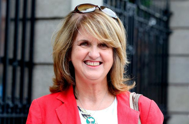 Former Tanáiste Deputy Joan Burton. Photo: Tom Burke