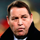 Steve Hansen, head coach of the All Blacks looks on during the Test match between the New Zealand All Blacks and the British & Irish Lions at Eden Park on June 24, 2017 in Auckland, New Zealand. Photo: Getty Images