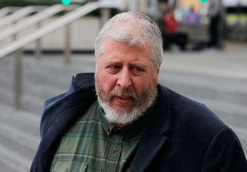 Tom Humphries pictured outside Dublin Circuit Criminal Court. Photo: Collins Courts
