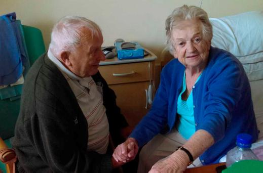 Michael (89) and Kathleen (86) Devereaux, who have been married for 63 years, are heartbroken after one was accepted for a Fair Deal scheme but the other was rejected