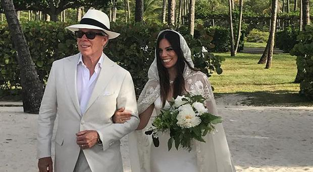 Ally Hilfiger Marries Steve Hash in Mustique
