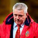 British & Irish Lions head coach Warren Gatland during the match between Hurricanes and the British & Irish Lions at Westpac Stadium in Wellington, New Zealand. Photo by Stephen McCarthy/Sportsfile