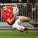 Tommy Seymour played alongside five Leinster players with the Lions