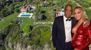 Beyonce and JAy Z are spending time in a rented Malibu Mansion