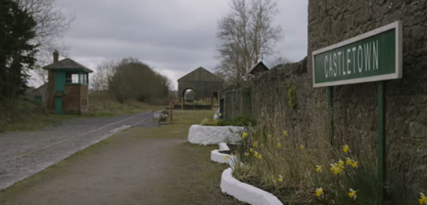 Castletown train station. Credit: Save the Quiet Man train station fundraising video / YouTube