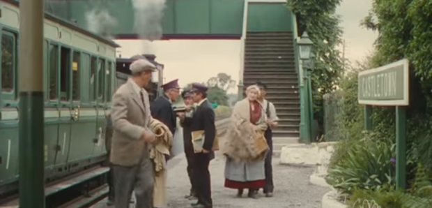A scene from The Quiet Man. Credit: Save the Quiet Man train station fundraising video / YouTube