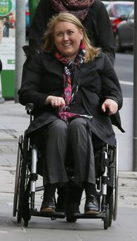 Elaine Lennon pictured arriving at the Four Courts for a High Court action. Photo: Collins Courts