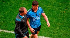 Jim Gavin said that the advice from senior counsel was that the Diarmuid Connolly case would not hold if it went to arbitration but the player didn't want to go down that route. Photo: Dáire Brennan / Sportsfile