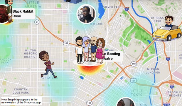 Snapchat's new 'Snap Map' has police anxious