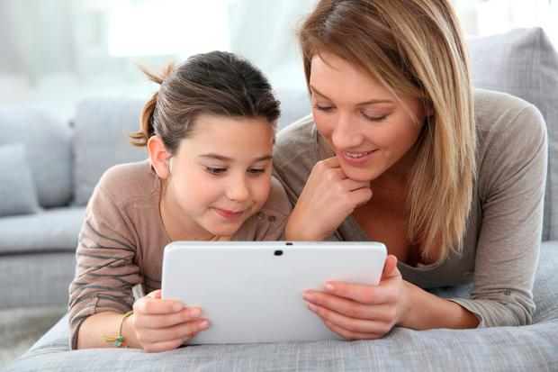 Surf smart: Rather than taking a 'leave them to it' approach, engage with your children's online lives