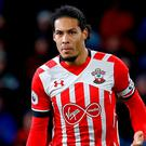 Southampton's Virgil van Dijk. Photo: PA Wire