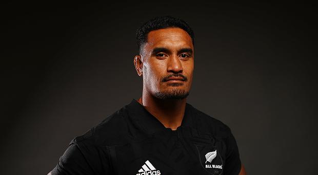 Jerome Kaino poses for a portrait during the New Zealand All Blacks Headshots Session on June 11, 2017 in Auckland, New Zealand. (Photo by Hannah Peters/Getty Images)