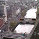 Image taken from Dublin City Council's traffic camera
