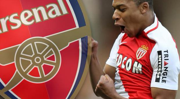 Arsenal are believed to be interested in Kylian Mbappe Getty