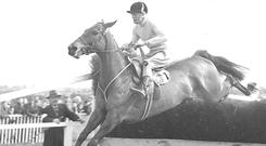 Arkle ridden by Pat Taaffe in July 1968