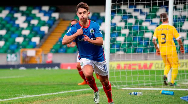Linfield take a lead as they edge towards a showdown with Celtic
