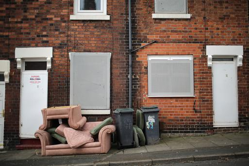 The vacancy rate here stands at 9pc, compared with 2.5pc in the UK. GETTY