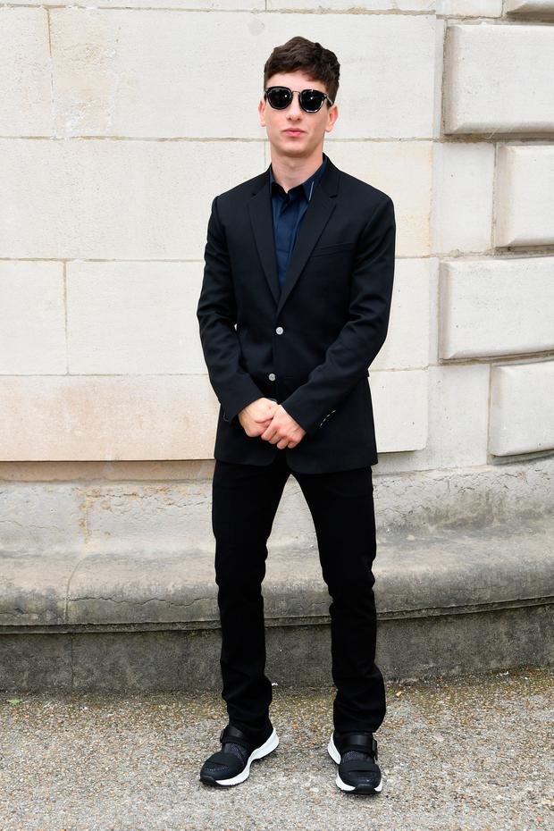 Barry Keoghan attends the Dior Homme Menswear Spring/Summer 2018 show as part of Paris Fashion Week on June 24, 2017 in Paris, France. (Photo by Pascal Le Segretain/Getty Images)