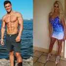 Rob Lipsett and Shannen Reilly McGrath have entered the Love Island villa. Images: RobLipsett/Instagram, ShannenReillyMcGrath/Instagram