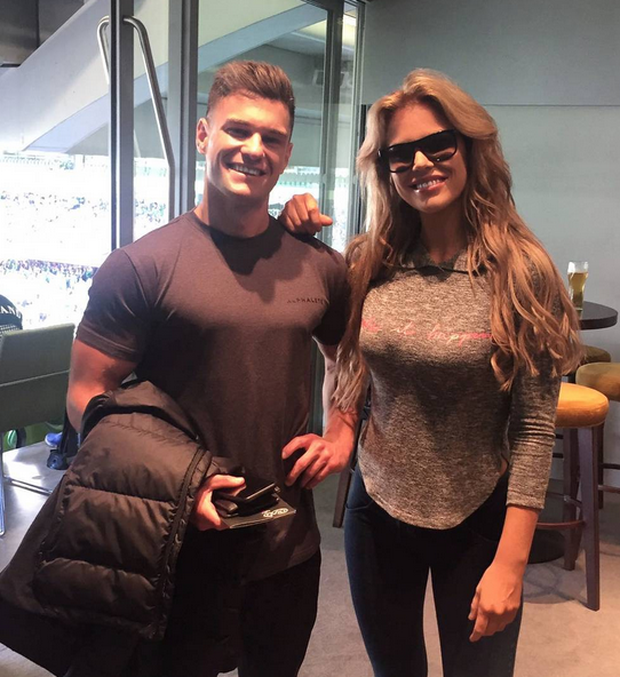 Rob and Roz Lipsett. Image: RosalindLipsett/Instagram