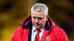 27 June 2017; British & Irish Lions head coach Warren Gatland during the match between Hurricanes and the British & Irish Lions at Westpac Stadium in Wellington, New Zealand. Photo by Stephen McCarthy/Sportsfile