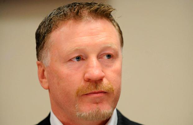 Former world boxing champion Steve Collins