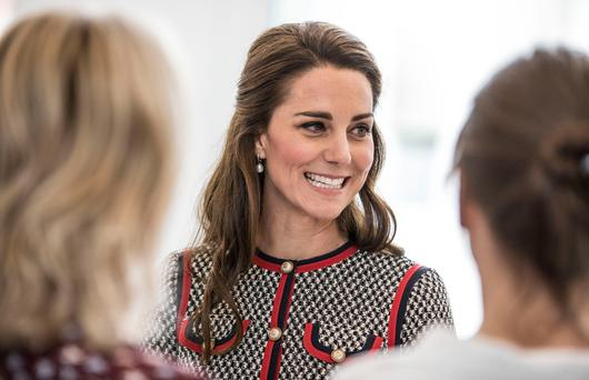 The Duchess of Cambridge Picture: PA