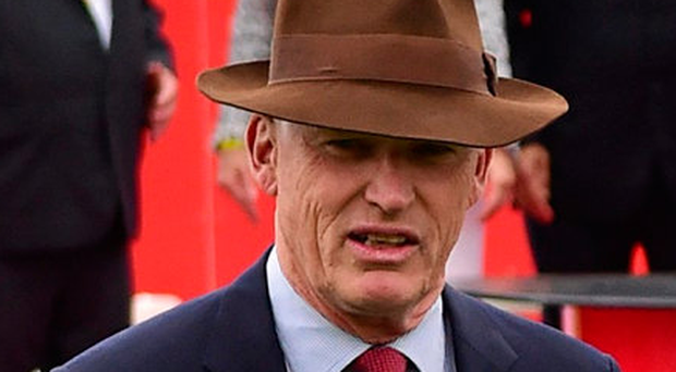 Trainer John Gosden reckons a galloping track like the Curragh will suit Cracksman better than Epsom and price of 3/1 seems fair. Picture credit: Cody Glenn / Sportsfile