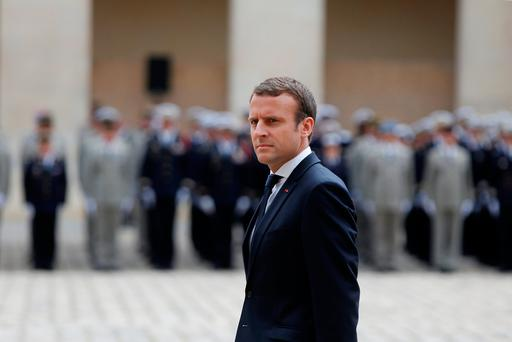 Officials in the president's office said another reason for not doing the Bastille Day interview was that Mr Macron will next Monday address both houses of parliament in a rare session at the Sun King's palace in Versailles Photo: Reuters
