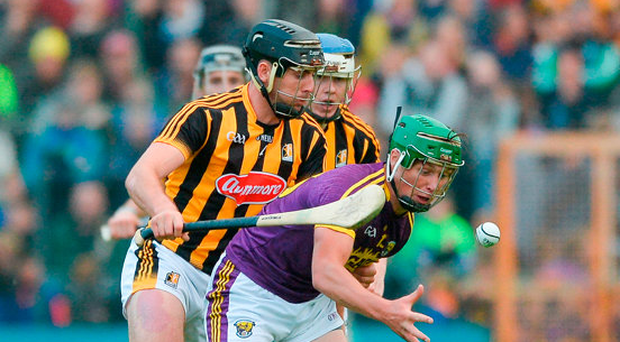 The likes of Conor McDonald are well able to win possession and set up Wexford attacks even when they're out-numbered. Photo: Sportsfile