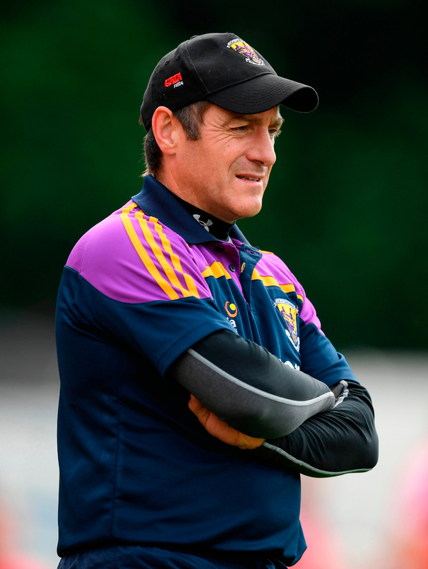 'Dunne has a different and deeply personal perspective, having managed Wexford for five years up to the end of last season.' Photo: Stephen McCarthy/Sportsfile