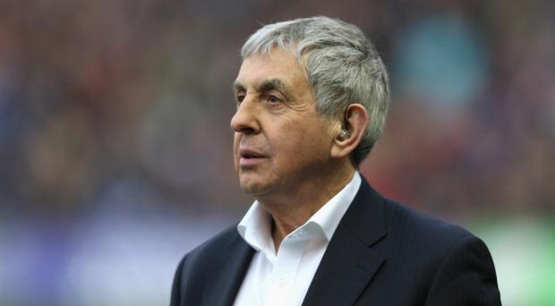 EDINBURGH, SCOTLAND - MARCH 08: Sir Ian McGeechan, looks on during the RBS Six Nations match between Scotland and France at Murrayfield Stadium on March 8, 2014 in Edinburgh, Scotland. (Photo by David Rogers/Getty Images)