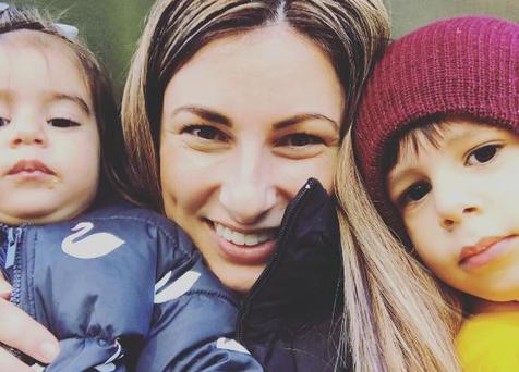 Zoe George and her children. PIC: The Subtle Mummy Instagram