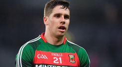 Lee Keegan of Mayo. Photo by Brendan Moran/Sportsfile