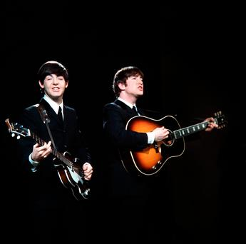 With A Little Help From My Friends: Paul McCartney and John Lennon