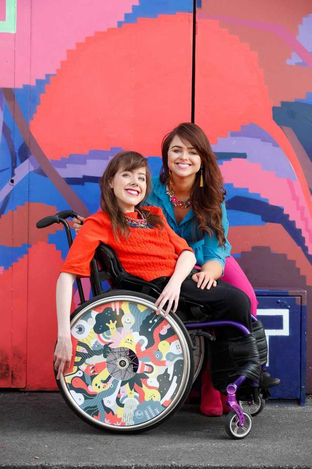 Izzy and Ailbhe Keane of Izzy Wheels. Pic: Conor McCabe for IWA Magazine