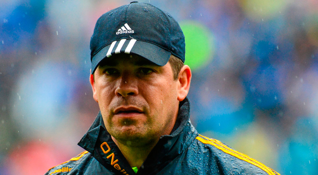 Éamonn Fitzmaurice will have had one eye on future battles ahead of today's Munster final. Photo: Sportsfile