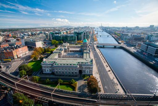 Problems building: With few properties available in many parts of Dublin for much under €350,000, home ownership is becoming a distant dream for today's younger generation. Stock photo: Deposit photos