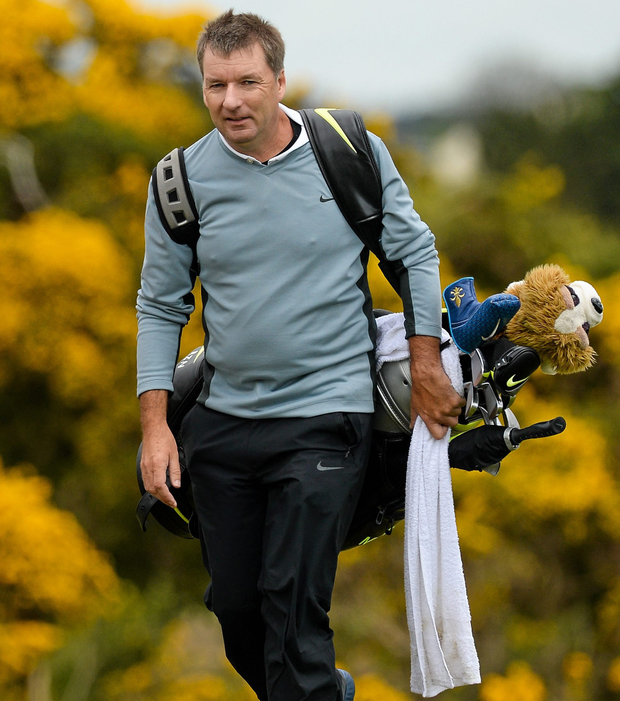 Rory McIlroy's caddie JP Fitzgerald. Photo: Sportsfile