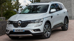Well-equipped: The Renault Koleos is a five-seat SUV with generous standard equipment