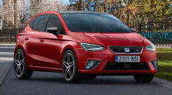 Rugged: The new SEAT Ibiza has shed the cutesy image