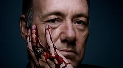Kevin Spacey as US president Frank Underwood in Netflix hit show House of Cards