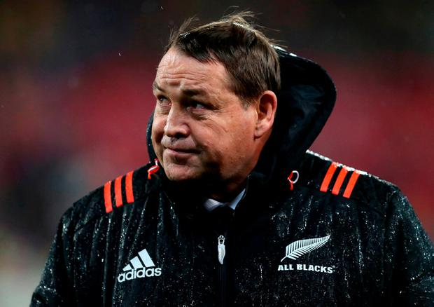 New Zealand head coach Steve Hansen. Photo: PA