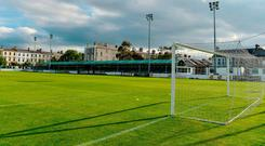 The Carlisle Grounds in Bray, Co Wicklow. Photo by Piaras Ó Mídheach/Sportsfile